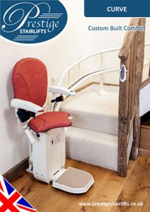 Prestige curved stairlift brochure