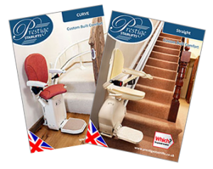Contact Us or download a Prestige Stairlift Brochure