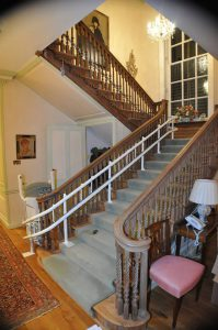 Prestige grand staircase stairlift install