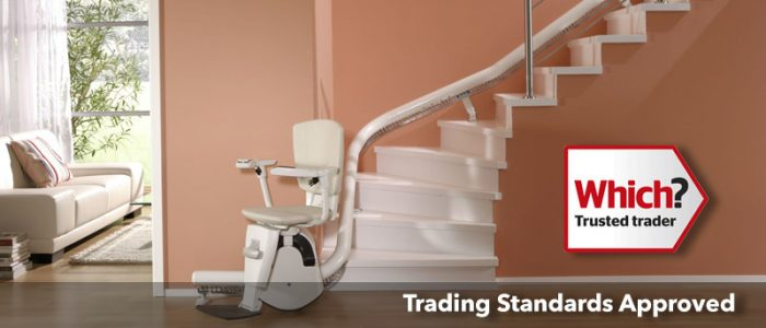 Prestige Stairlifts - curved stairlift