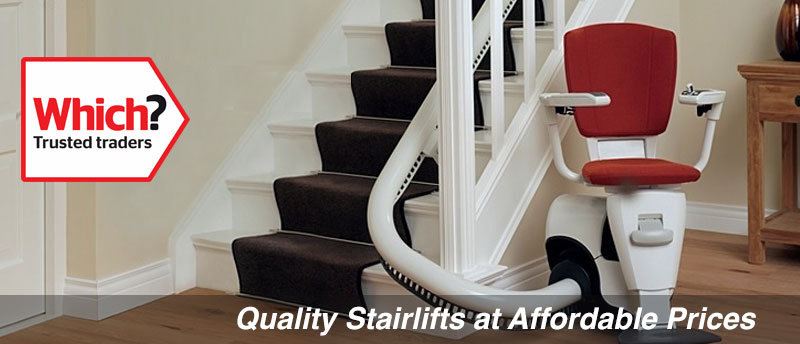 Prestige new curved stairlift